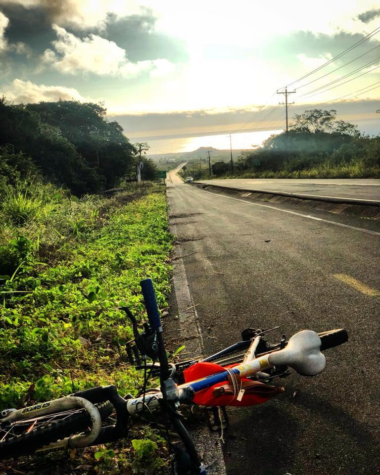 Strada di ritorno da El Junco