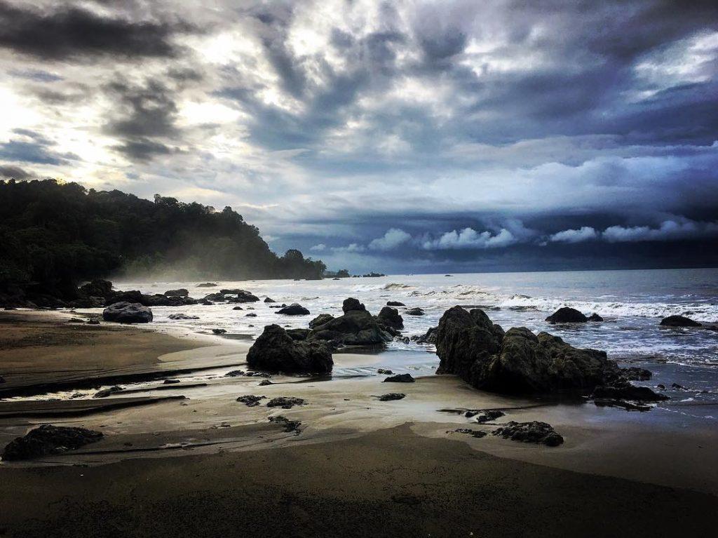 Spiaggia del litorale Pacifico, Chocó