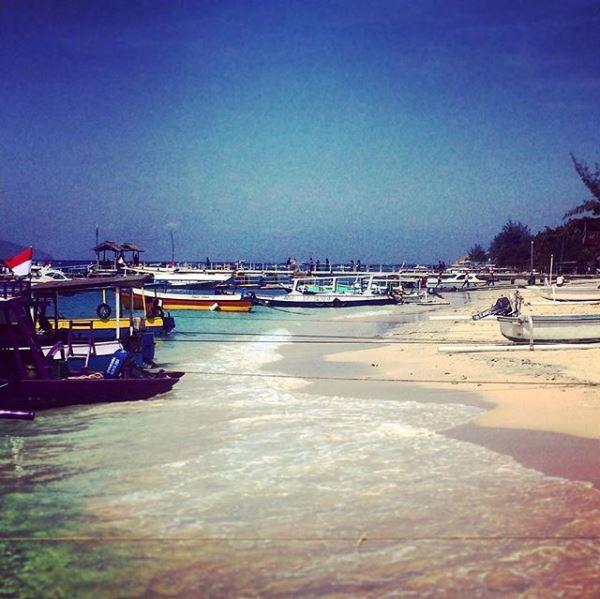 Gili Trawangan, spiaggia Indonesia