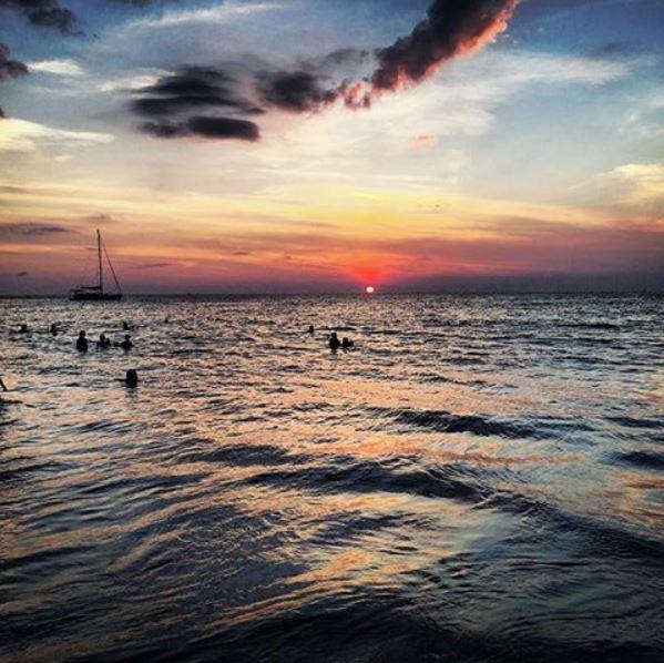 Tramonto a Karon Beach, Phuket