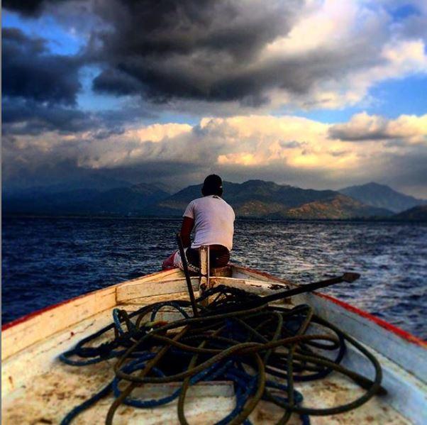 Lombok, arrivo sull'isola