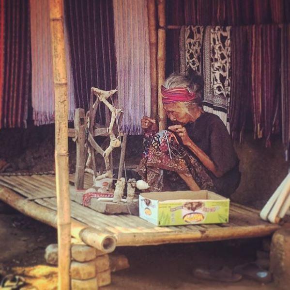Isola di Lombok, villaggio di Sukarare