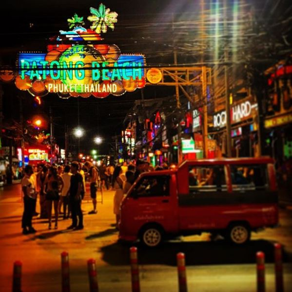Bangla Road - Phuket, Thailandia