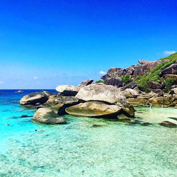 Parco Nazionale Marino delle Similan Island, Thailandia