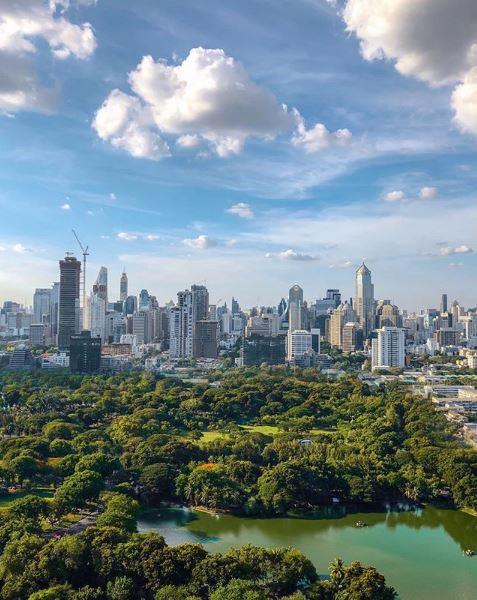 Cosa vedere nella città di Bangkok: Lumphini Park