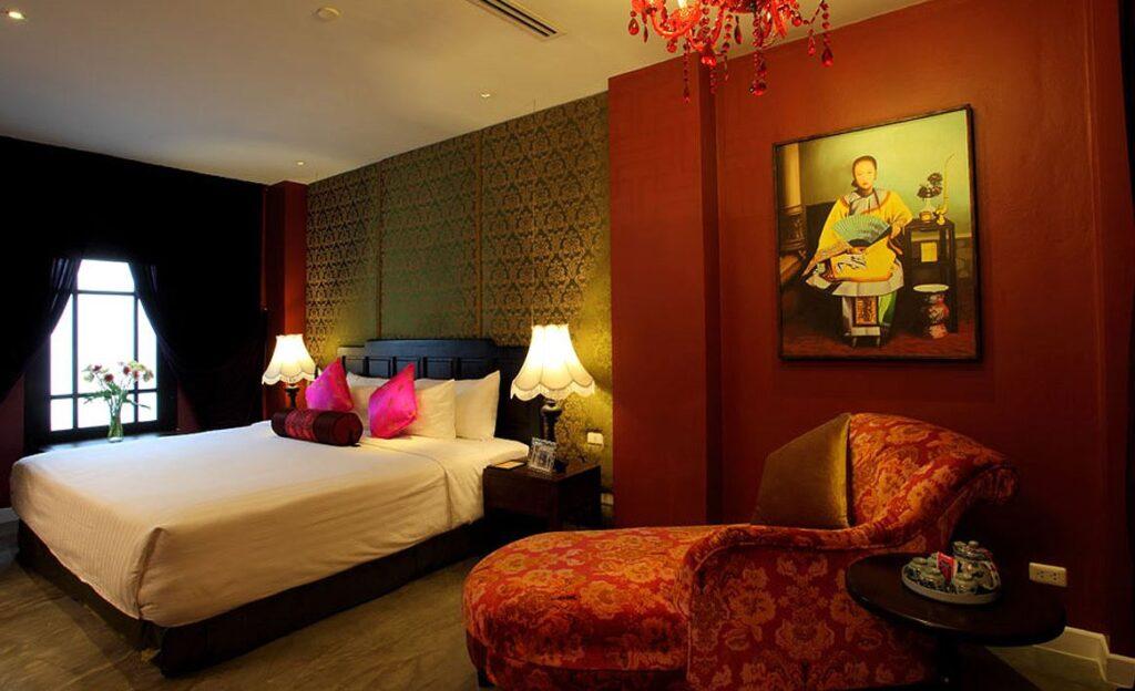 Stanze del Shangai Mansion Hotel, Bangkok