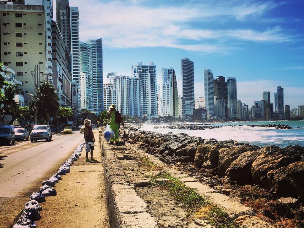 Cartagena, grattacieli di Bocagrande