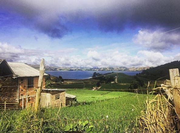 Colombia, Lago de Tota
