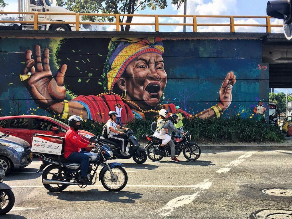 Medellin, street art