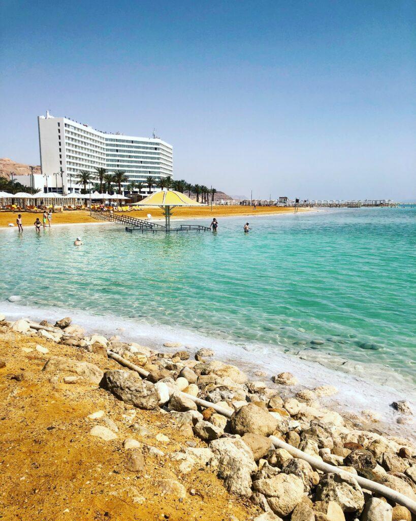 Spiaggia di Ein Bokek, Mar Morto