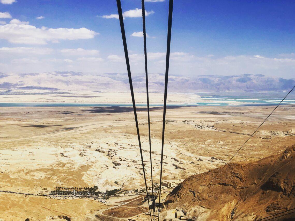 Panorama sul Mar Morto dalla Fortezza di Masada