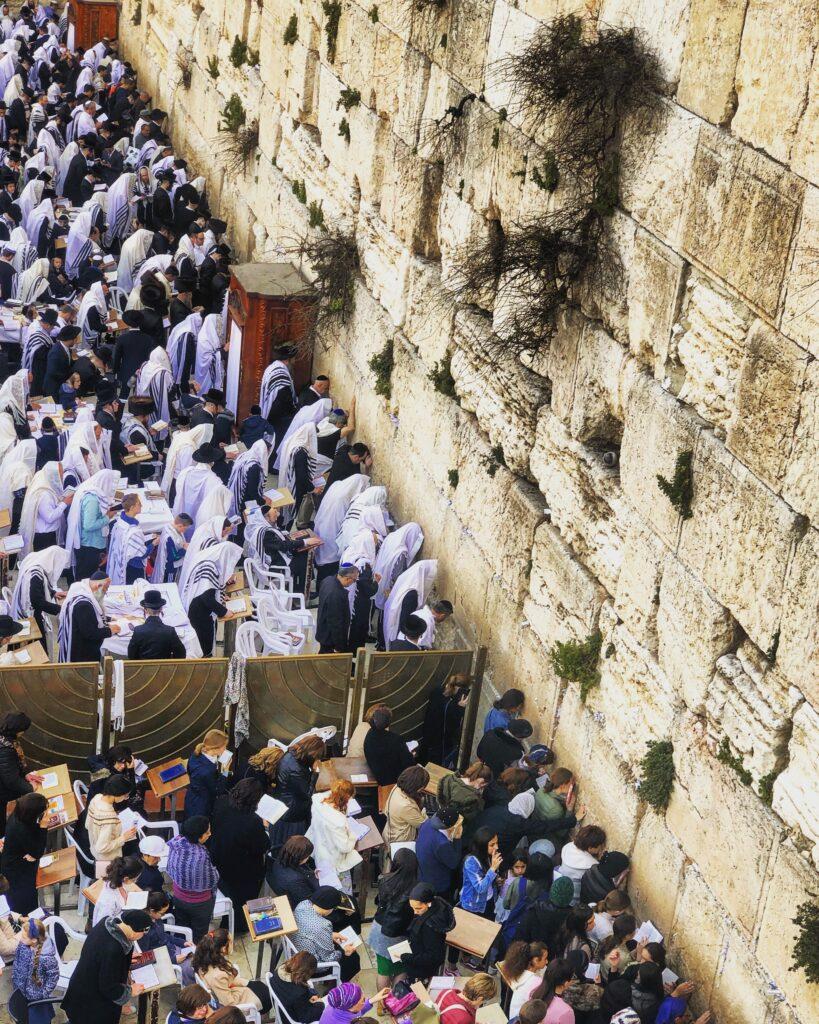 Muro del pianto, quartiere ebraico