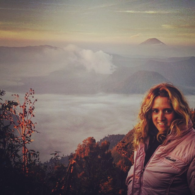 Monte Panajakan, Isola di Java