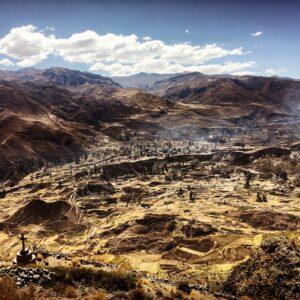 Panorama dal Mirador de Los Andes