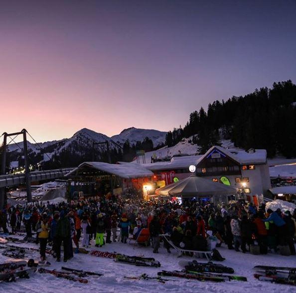Aperitivo presso l'Après-ski Jumper