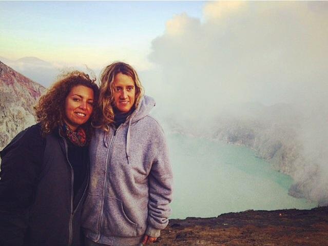 Alba sul vulcano Ijen, Isola di Java