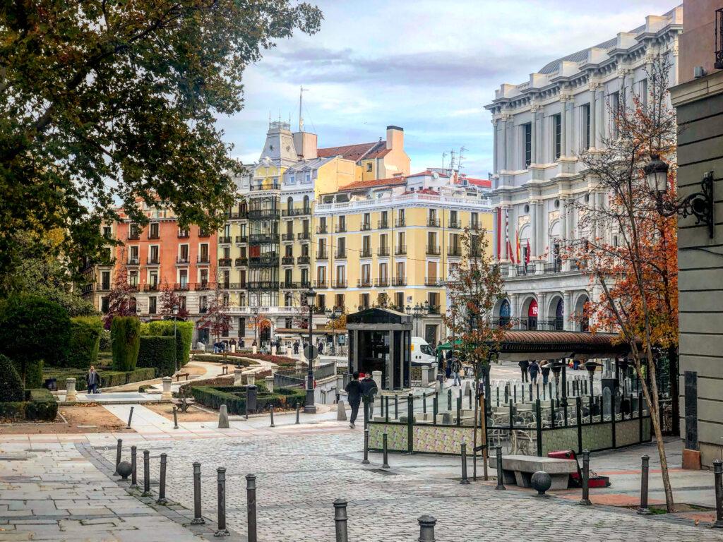 Visitare Madrid: Plaza de Oriente