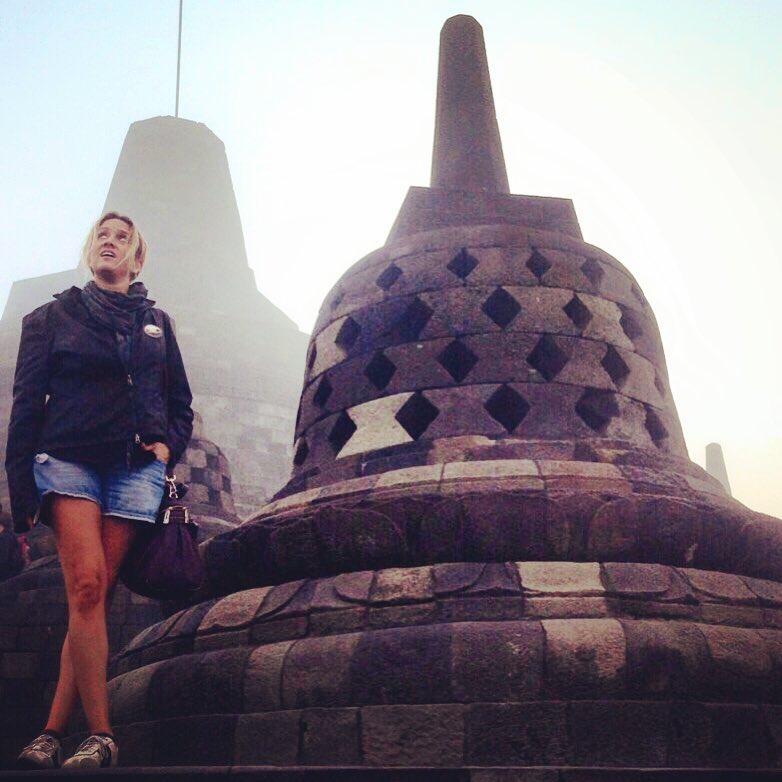 Tempio di Borobudur, Indonesia