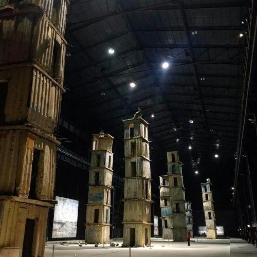 I sette palazzi celesti, Hangar Bicocca