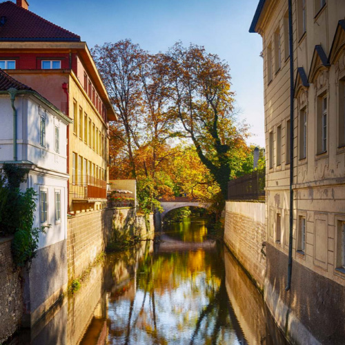 Cosa vedere a Praga: l'Isola di Kampa