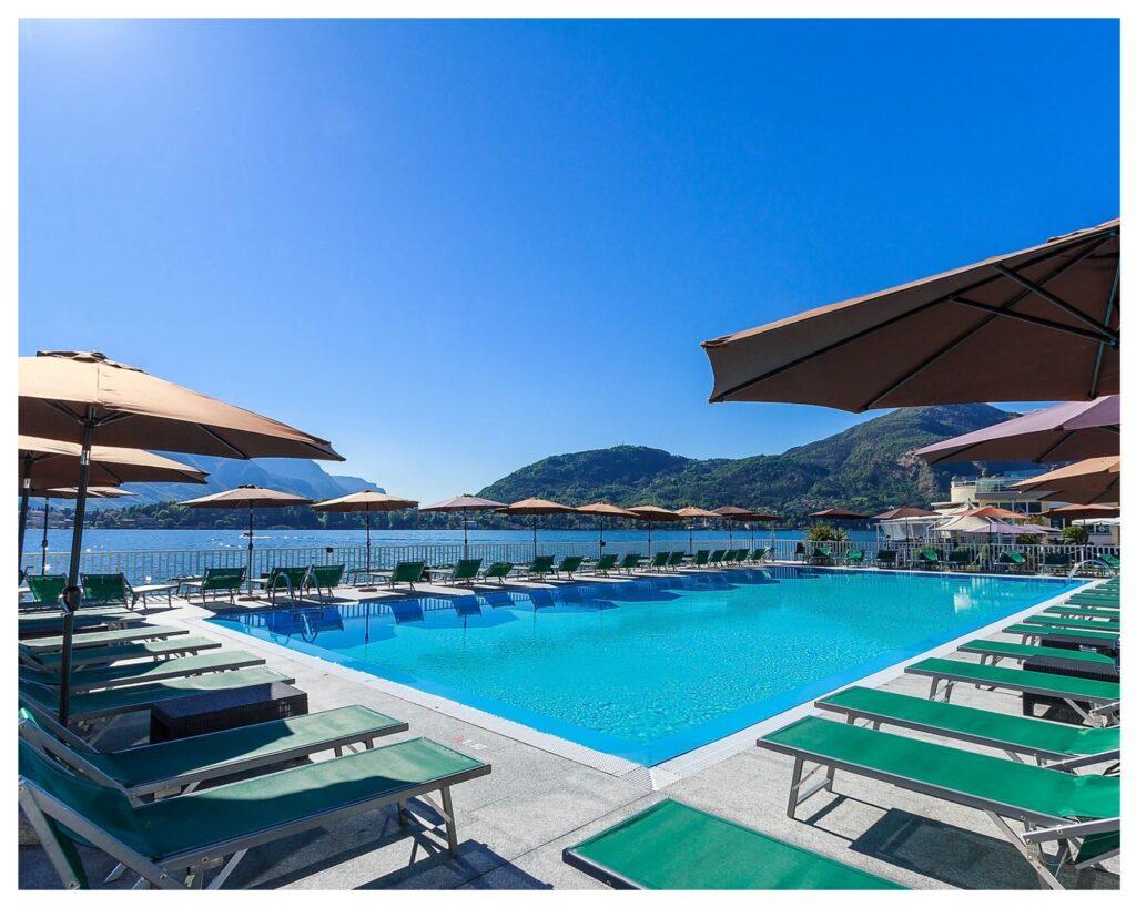 La piscina del Lido di Cadenabbia