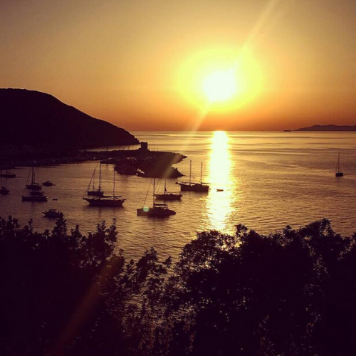 Marciana Marina al tramonto