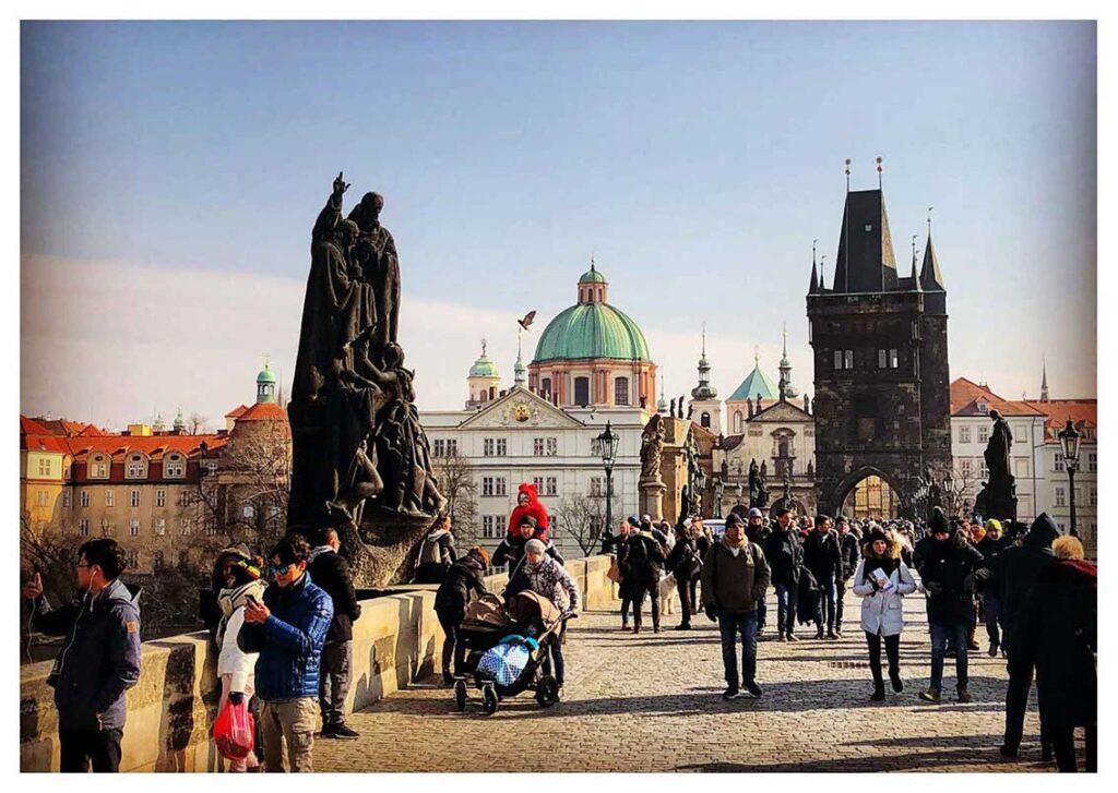 Cosa vedere a Praga: il Ponte Carlo e Mala Strana