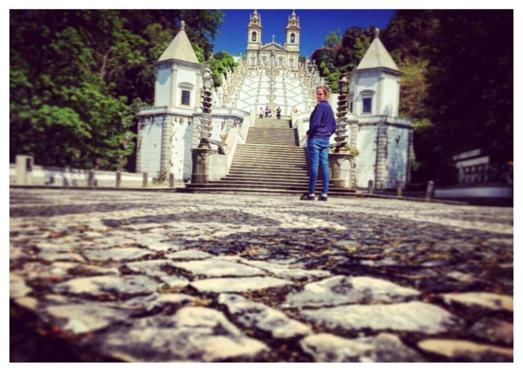 Itinerario di viaggio, Santuario di Bom Jesus do Monte