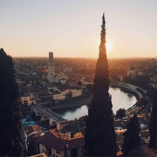 Panorama sulla città di Verona