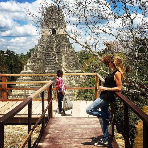 Il parco nazionale di Tikal: Tempio I del Giaguaro