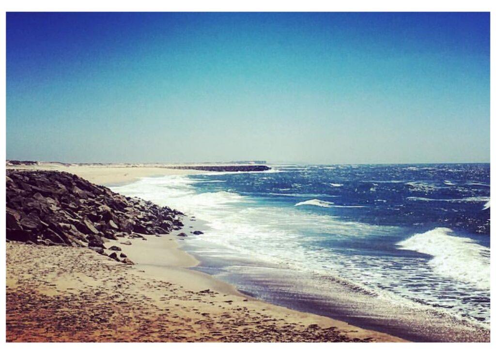 La spiaggia di Costa Nova - Portogallo del Nord, itinerario di viaggio