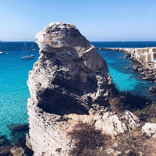 Le Isole Egadi: Favignana, Cala Rossa