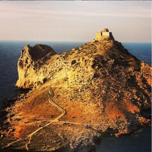 Le Isole Egadi: Marettimo, Castello di Punta Troia