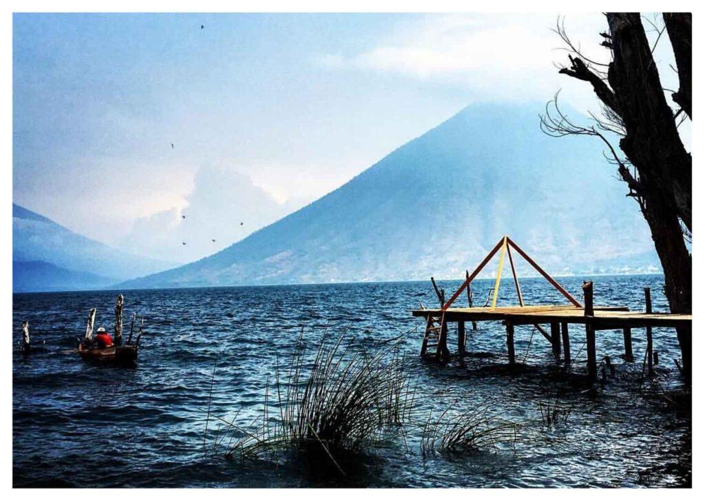San Marco la Laguna, lago Atitlan