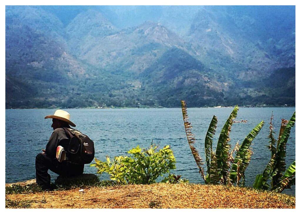 Santiago, lago Atitlan