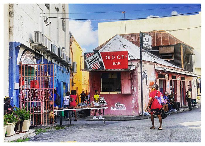 Case Bajane a Bridgetown, Barbados