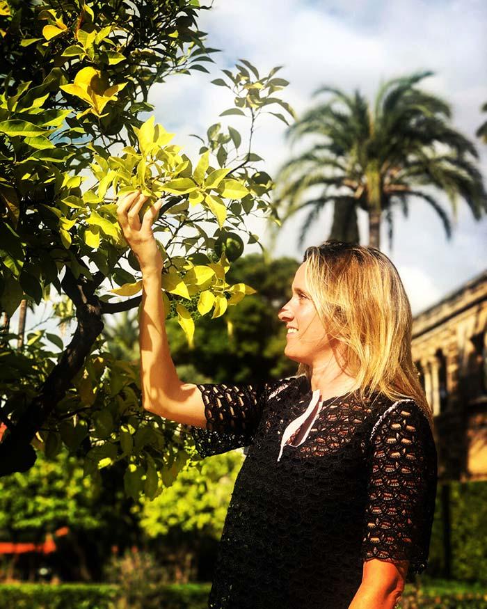 Itinerario di Siviglia: giardini degli aranci