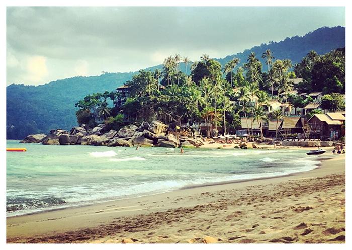 Koh Phangan, spiaggia di Thong Nai Pan