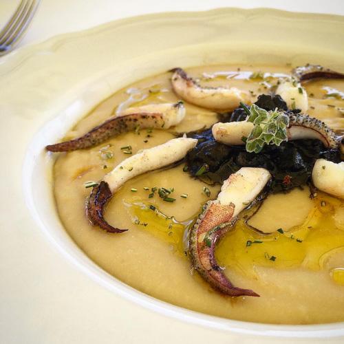 Un piatto del ristorante Macchianera