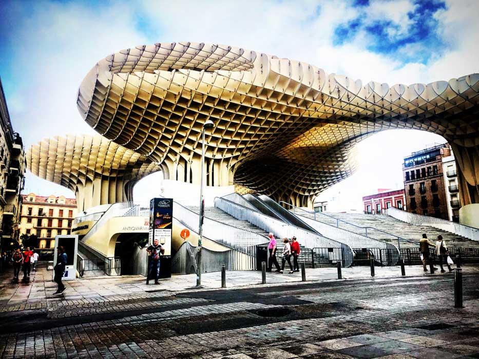 Itinerario di Siviglia: Metropol Parasol