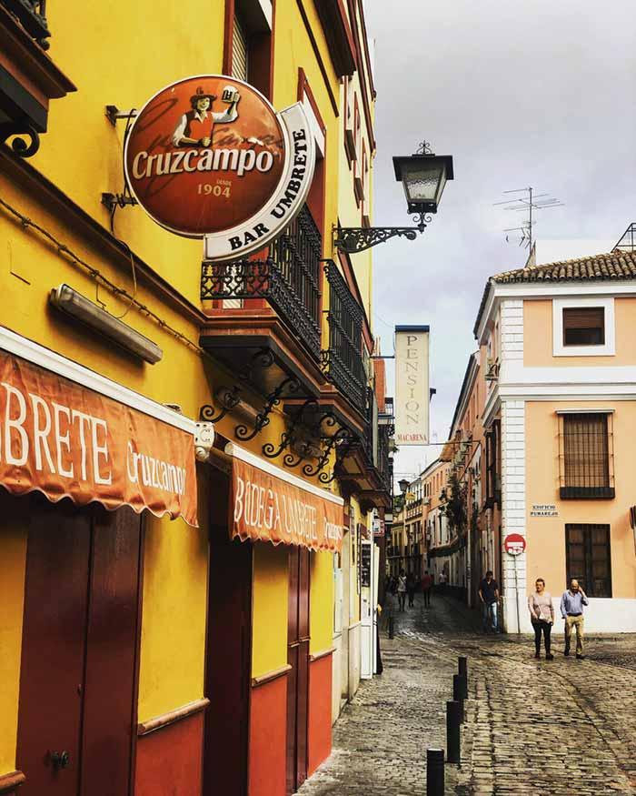 Itinerario di Siviglia: Barrio Santa Cruz