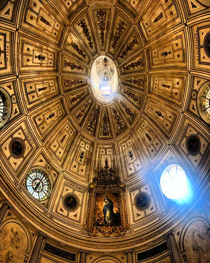 Cattedrale di Siviglia, volta interna