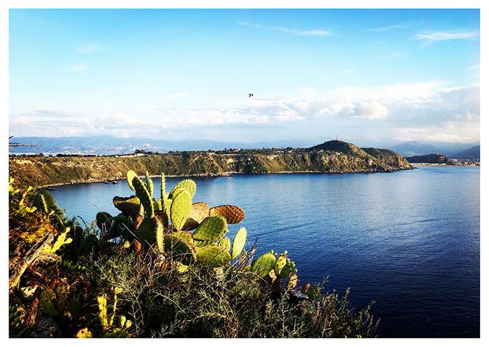 Il panorama da Capo Milazzo