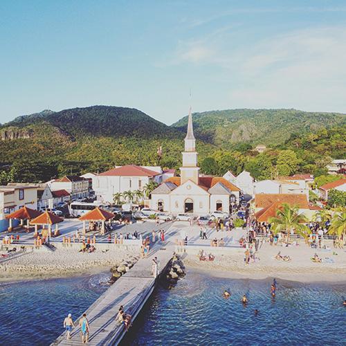 Anse d'Arlet, costa sud-caraibica