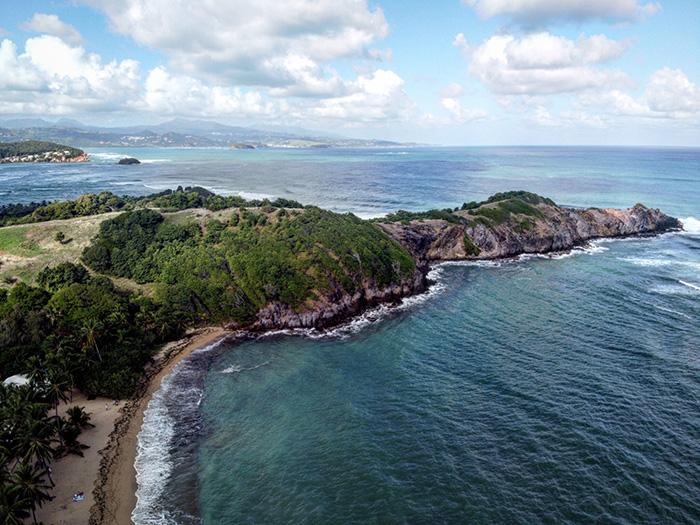 Anse l'Etang, costa nord-atlantica