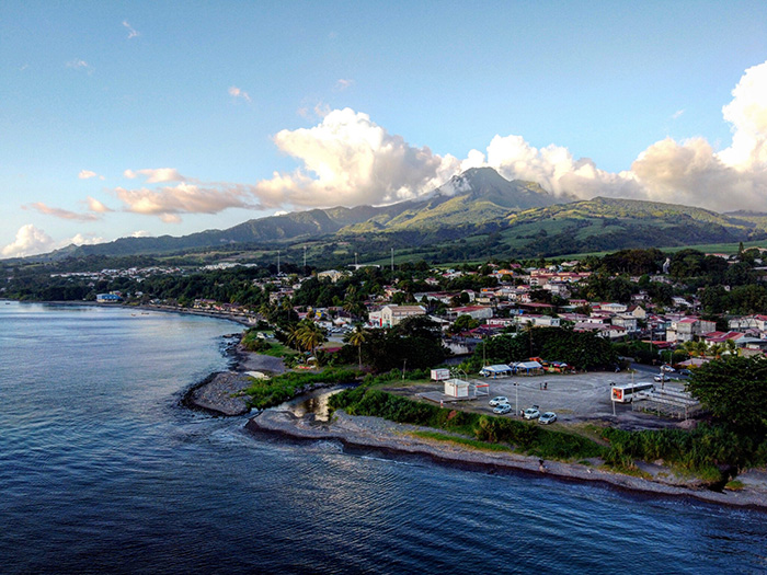 Costa settentrionale e Mount Pelée, Martinica