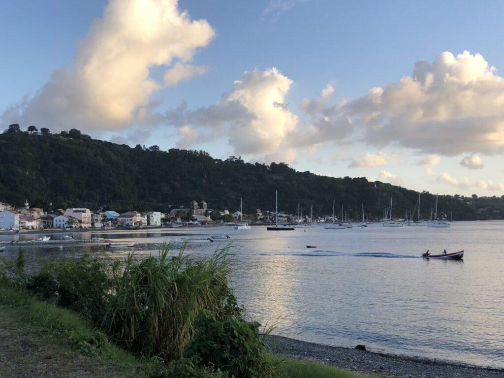 Sainte Pierre, costa nord-caraibica