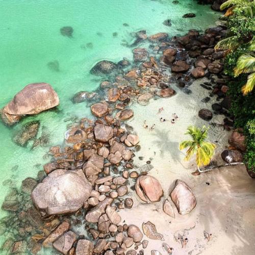 Brasile, Ilha Grande: Praia do Aventureiro