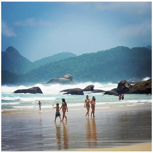 Brasile, Ilha Grande: spiagga di Lopes Mendes