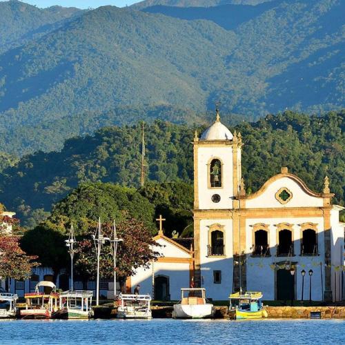 Brasile, Paraty: cappella di Santa Rita